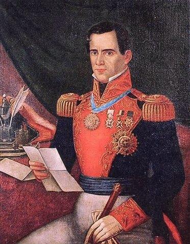 Retrato de Santa Anna.