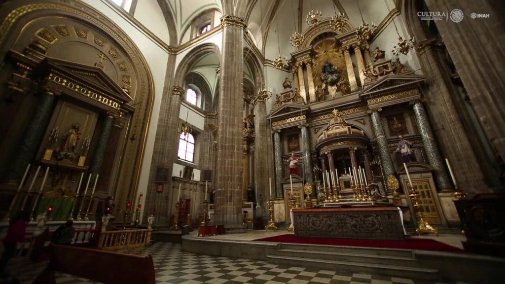 Iglesia de la Profesa por dentro.