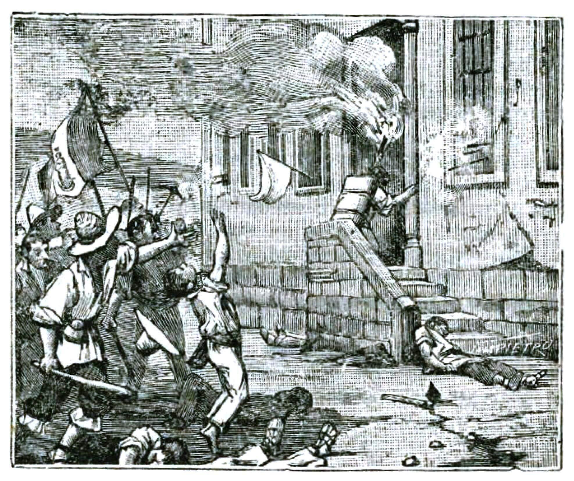 Toma de la Alhóndiga de Granaditas (1810)
