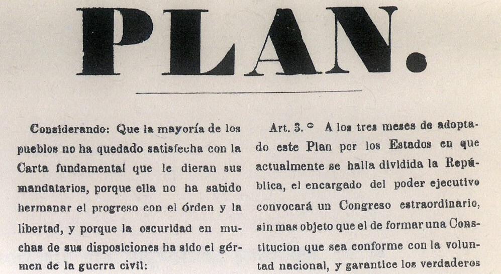 Plan de Tacubaya (1857)