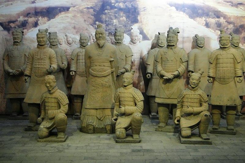 Guerreros de Terracota (210 - 209 a. C.)