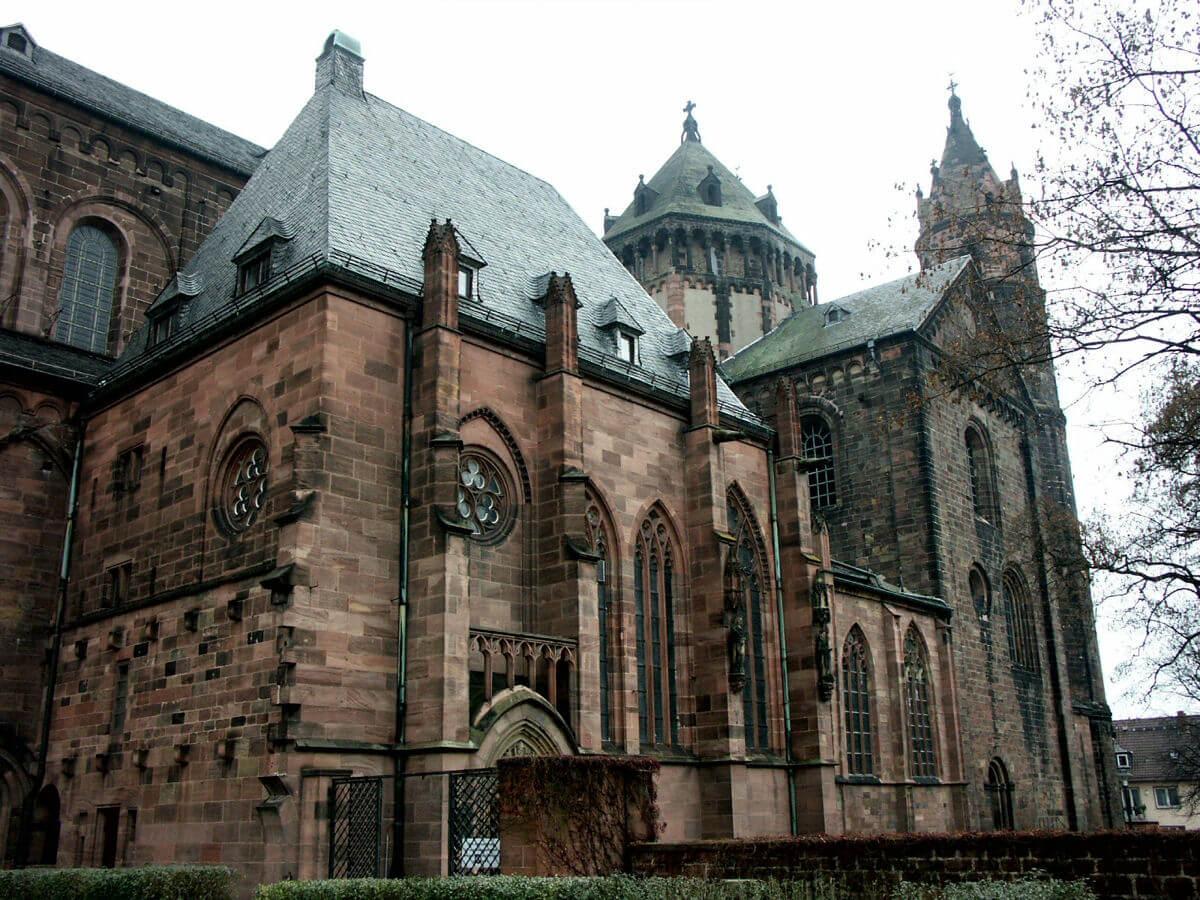 Catedral de Worms (estilo románico).