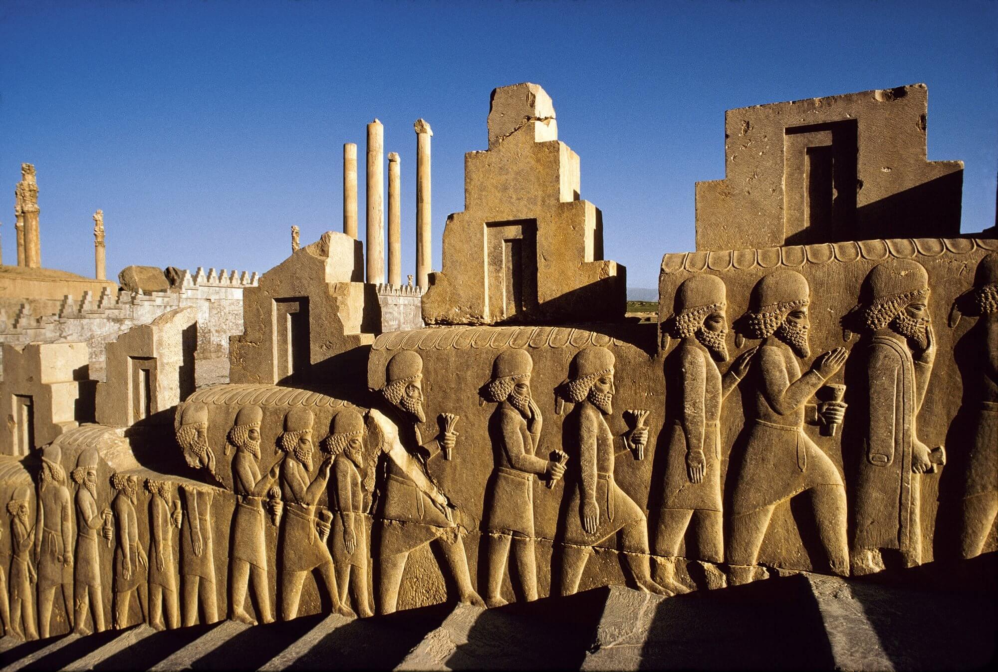 Imperio Aqueménida (550 a. C. - 330 a. C.)