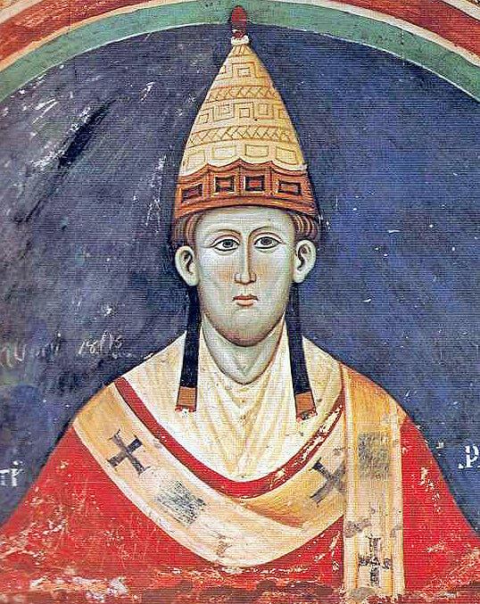 Papa Inocencio III con tiara