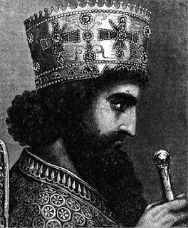 Jerjes I Gran Rey (Shah) de Persia.