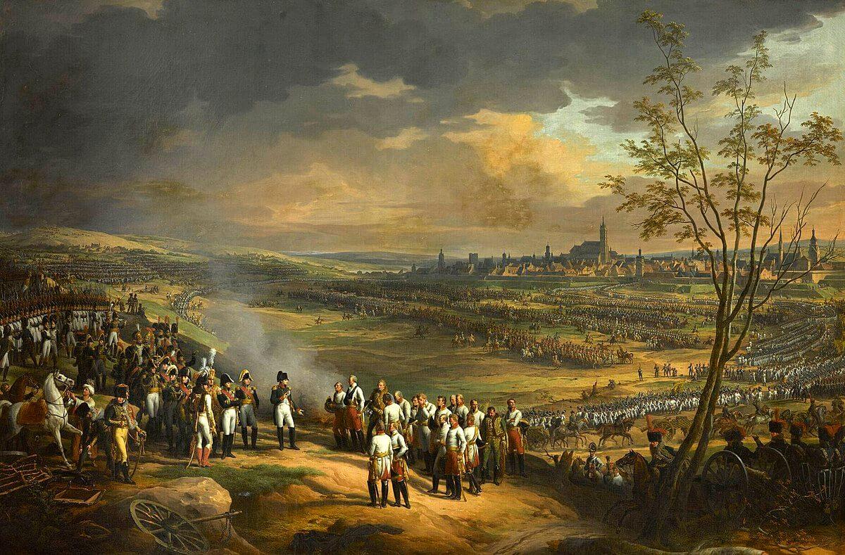 La rendición de Ulm, óleo de Charles Thévenin.