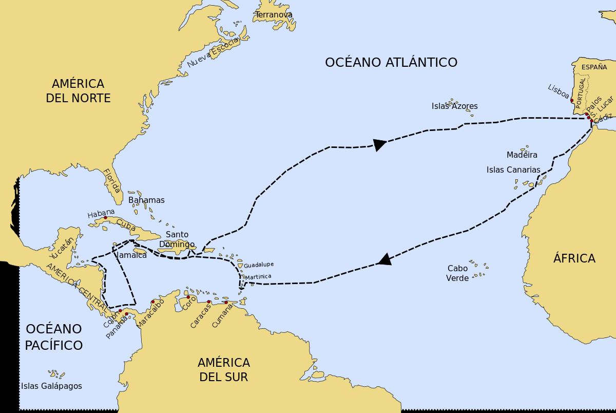 Cuarto viaje transatlántico de Cristóbal Colón.