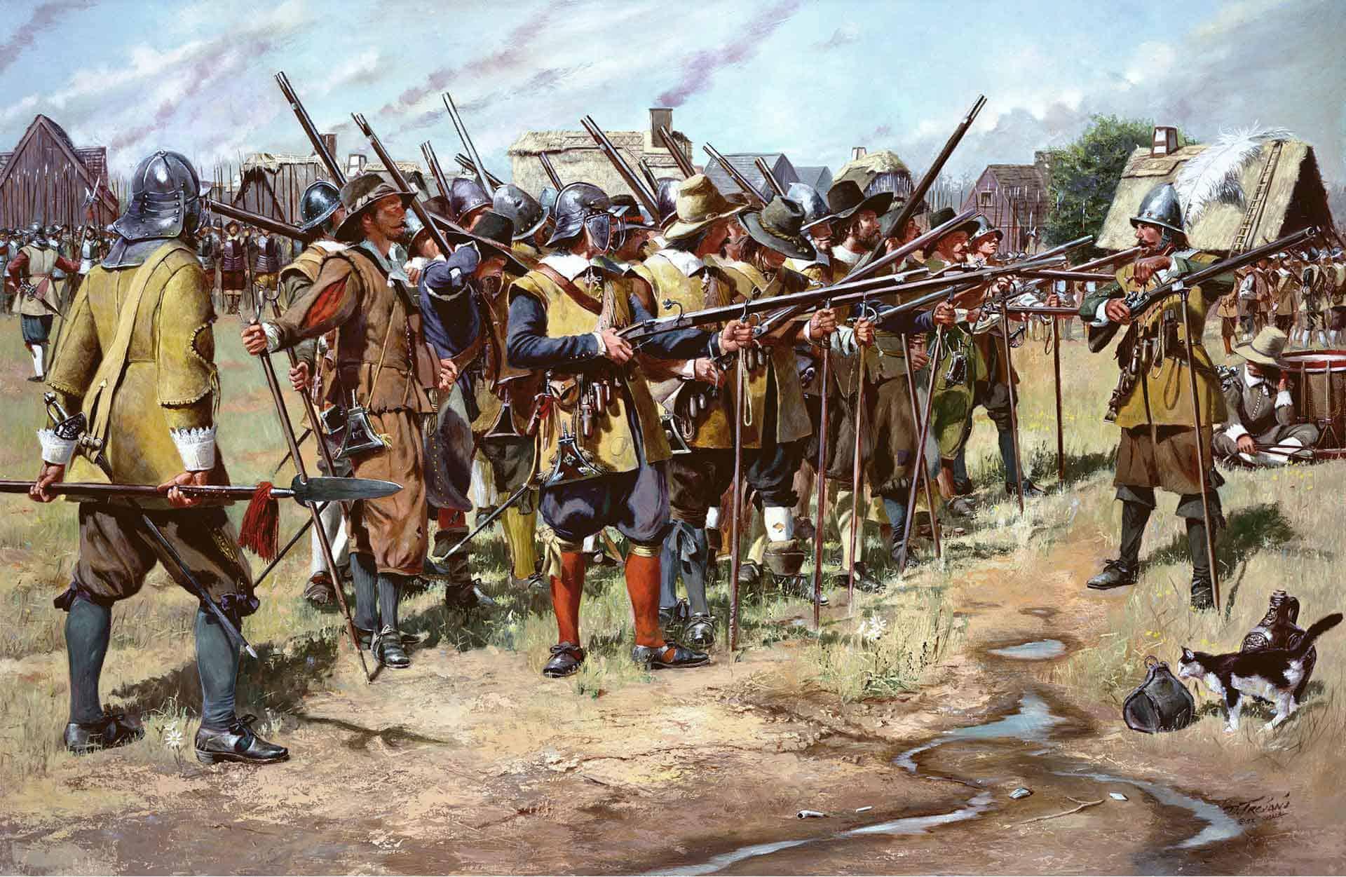 Guerra Pequot (1636 - 1638)