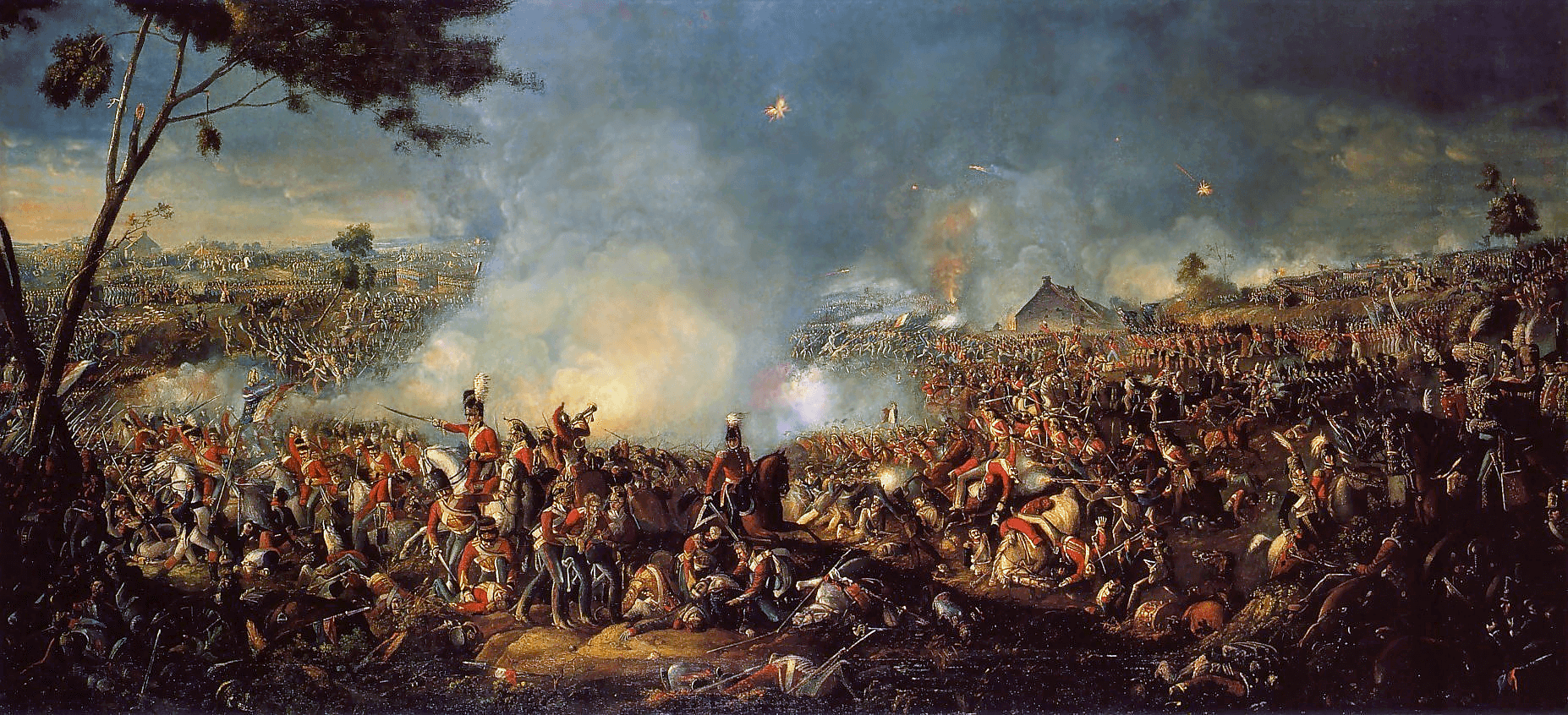 Batalla de Waterloo (Junio 1815)