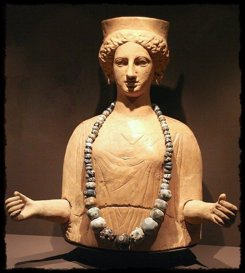 Estatua de Tanit.