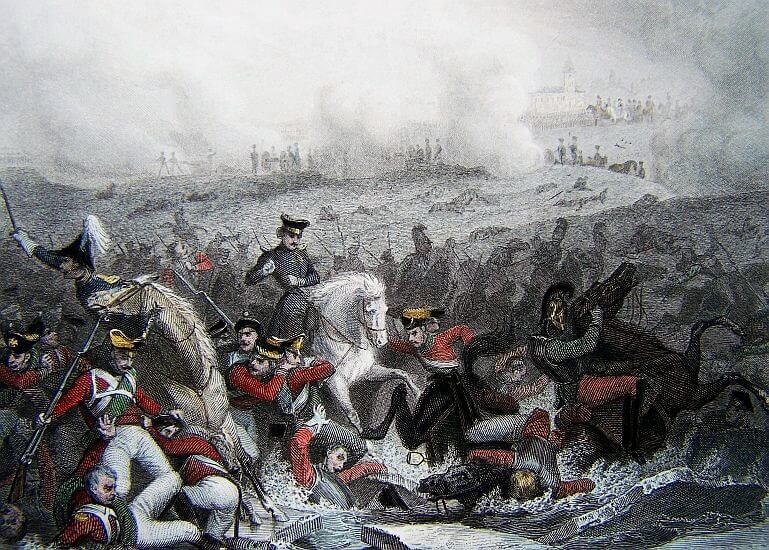Batalla de Austerlitz por Thomas Campbell.