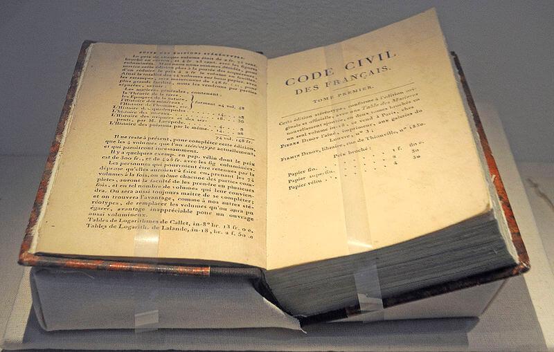Código Napoléonico.