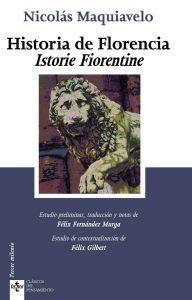 """Portada de la obra """"Historia de Florencia""""."""