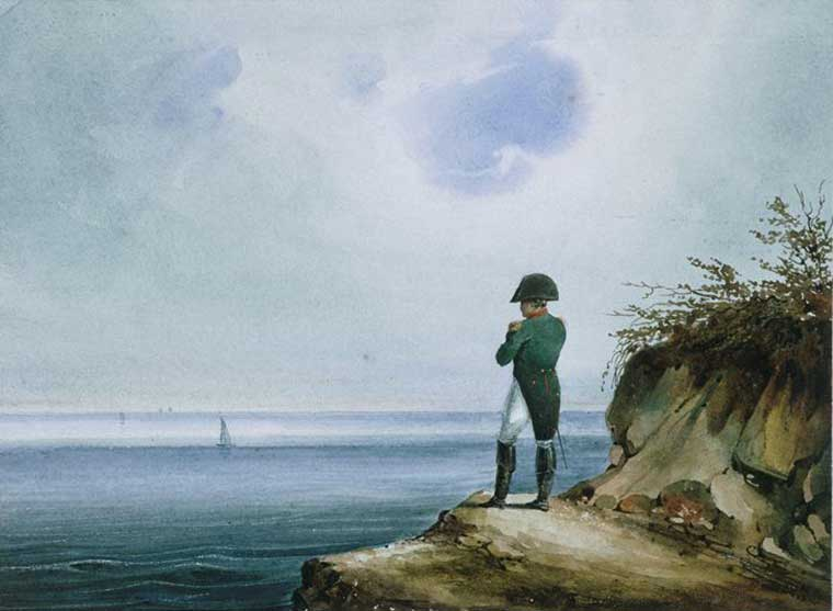 Napoleón Bonaparte en el Exilio.