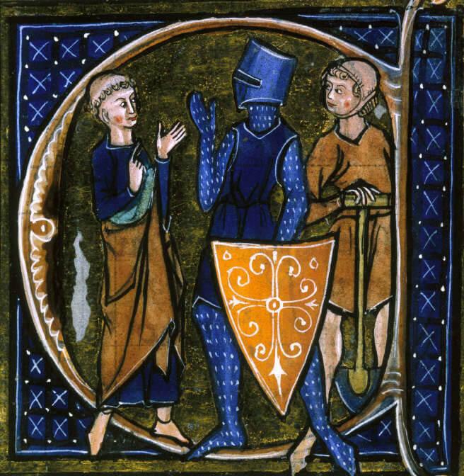 Manuscrito medieval.