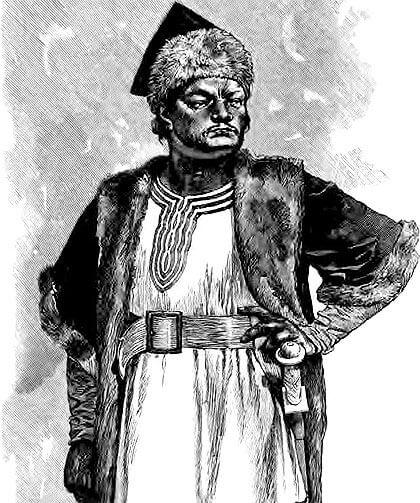 Ilustración de Atila.