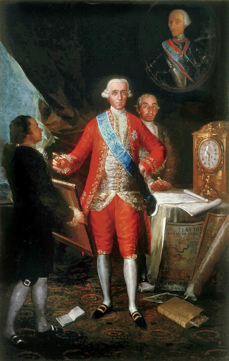Retrato de José Moñino y Redondo (1728-1808), politico español y primer conde de Floridablanca.