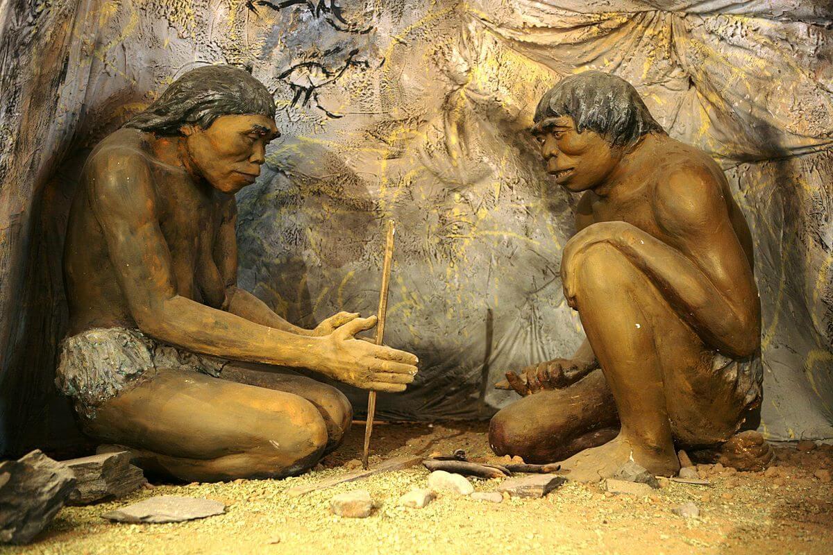 Hombre de la prehistoria