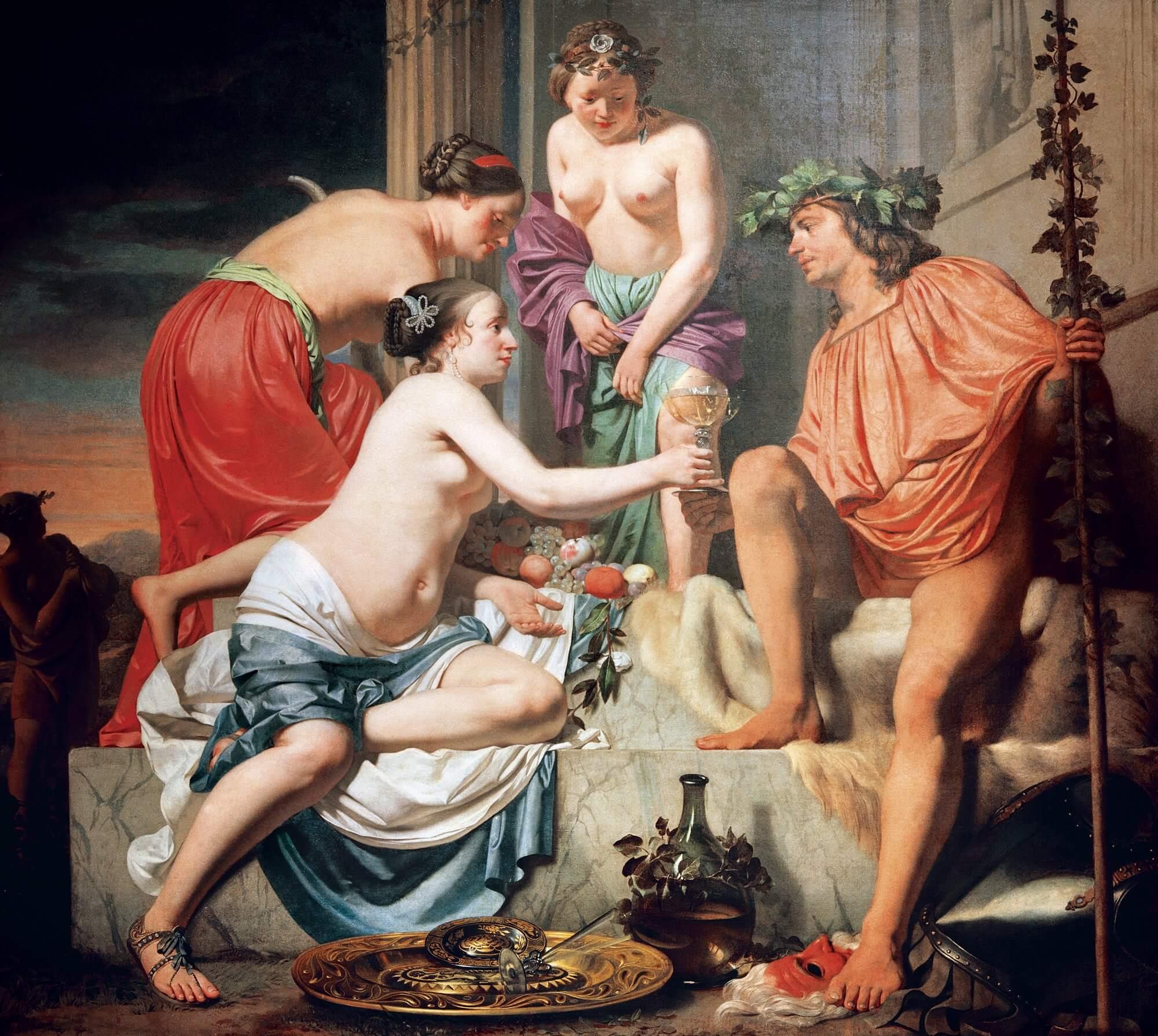 óleo sobre Neron, realizado por Caesar van Boetius.