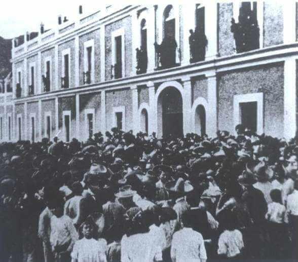 Huelga de Río Blanco.