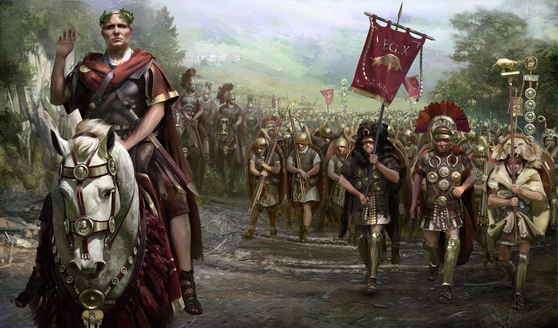 Julio César (100 a.C - 44 a.C)