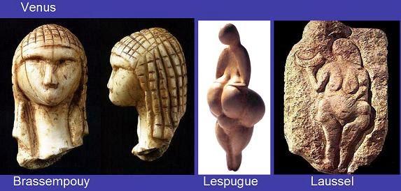 Venus primitivas del Paleolítico superior