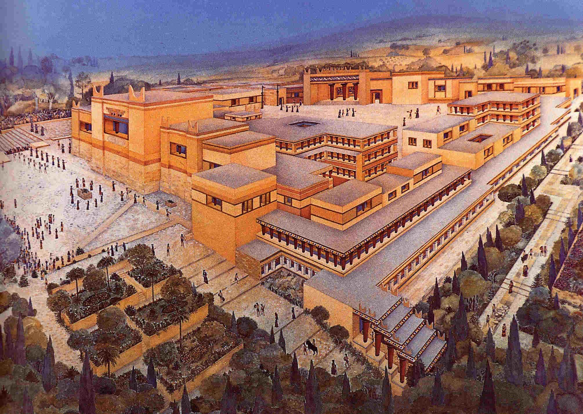 Civilización Minoica (3050 a.C - 1050 a.C)