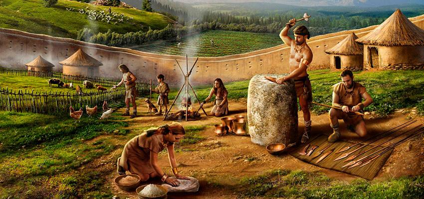 Civilización humana, Edad de Cobre.