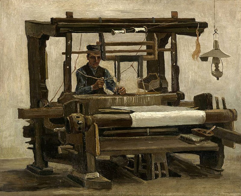 El Telar, Cuadro de Van Gogh, 1884.