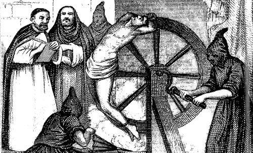 castigo a un hereje en la América Colonial