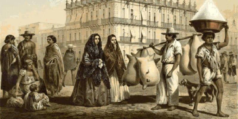 Sociedad colonial mexicana