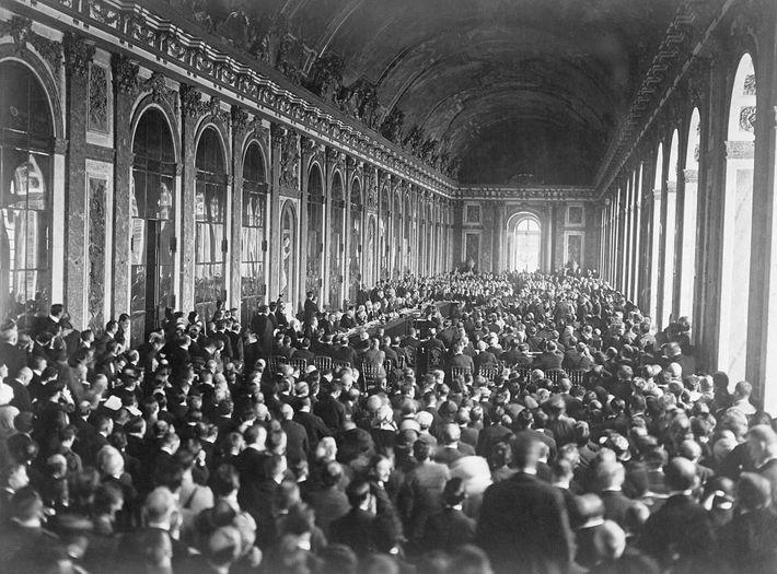 tratado en el Palacio de Versalles