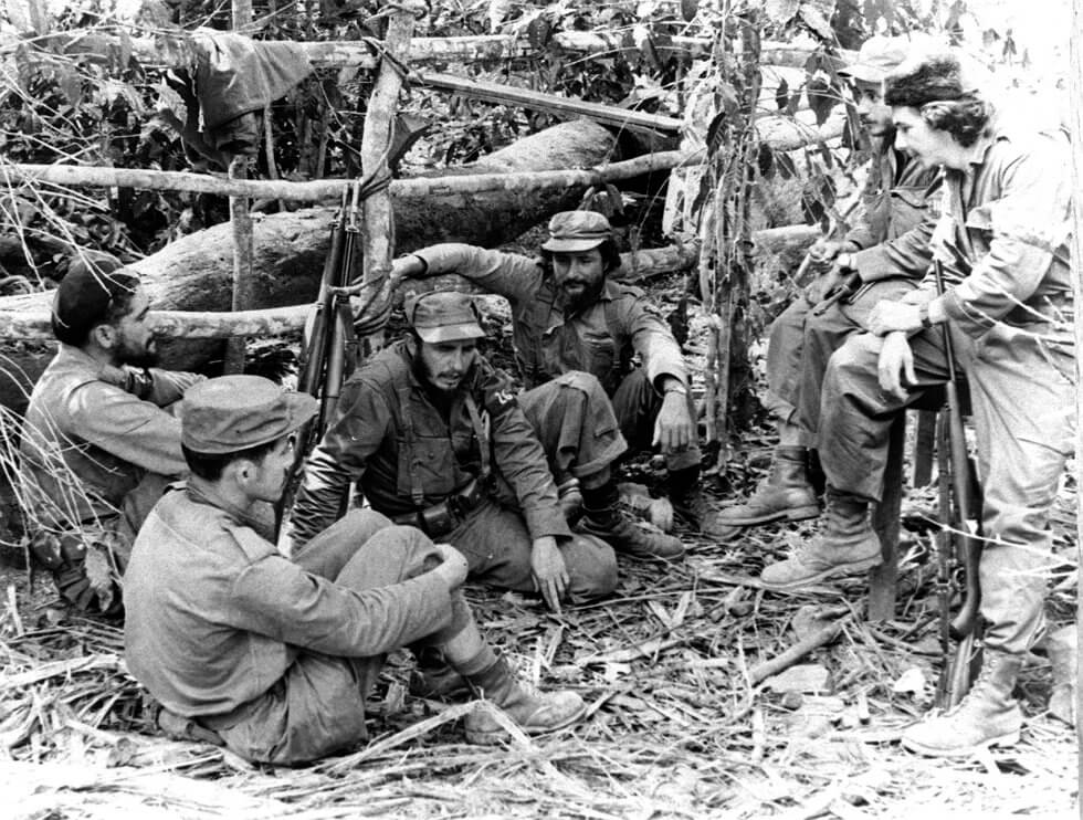 Fidel Castro en Sierra Maestra