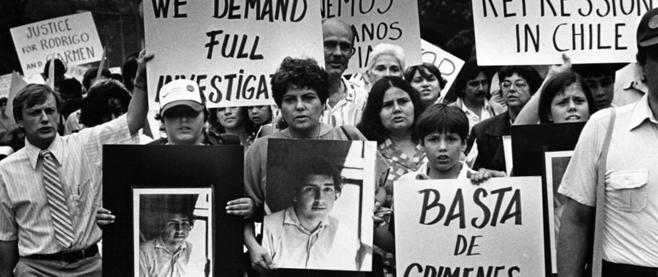 1973: golpe de Estado de Pinochet a Salvador Allende.