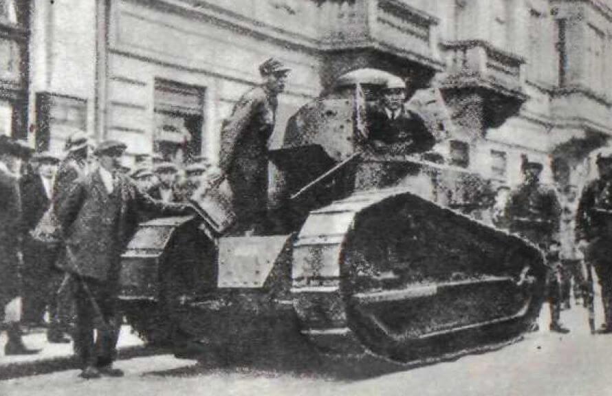 Golpe de Estado militar en Polonia en 1926.