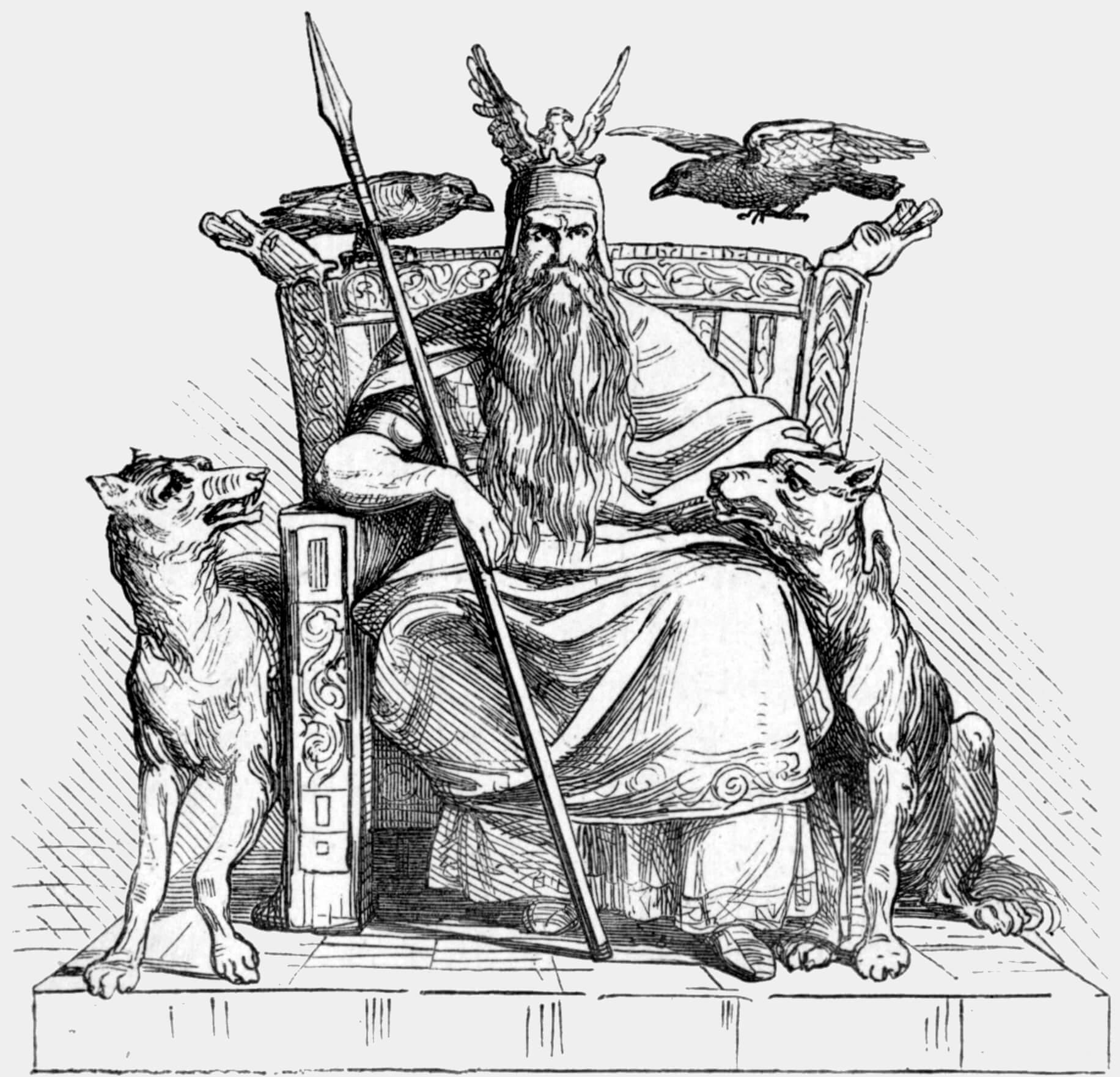 Odín (Dios Nórdico)