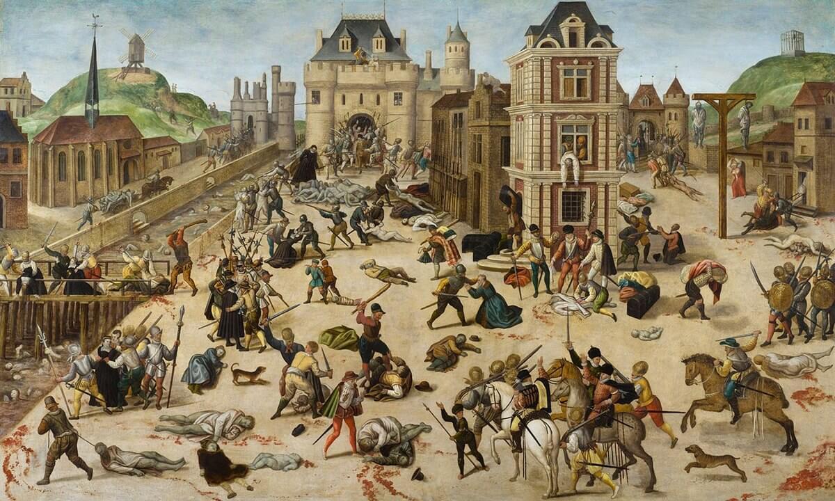 Matanza de San Bartolomé de François Dubois