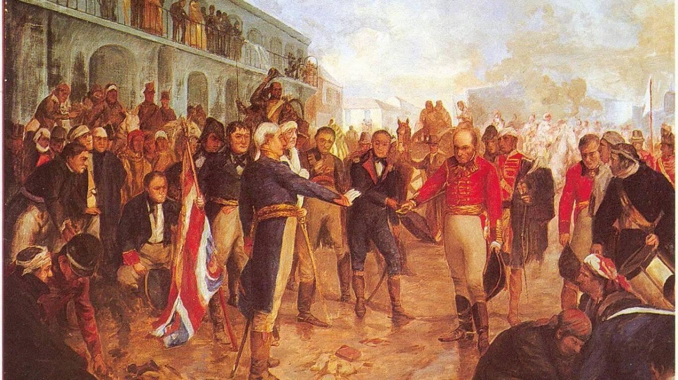 La reconquista de Buenos Aires en la visión del artista plástico Charles Fouqueray.