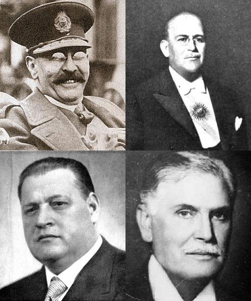 Uriburu, Justo, Ortiz y Castillo