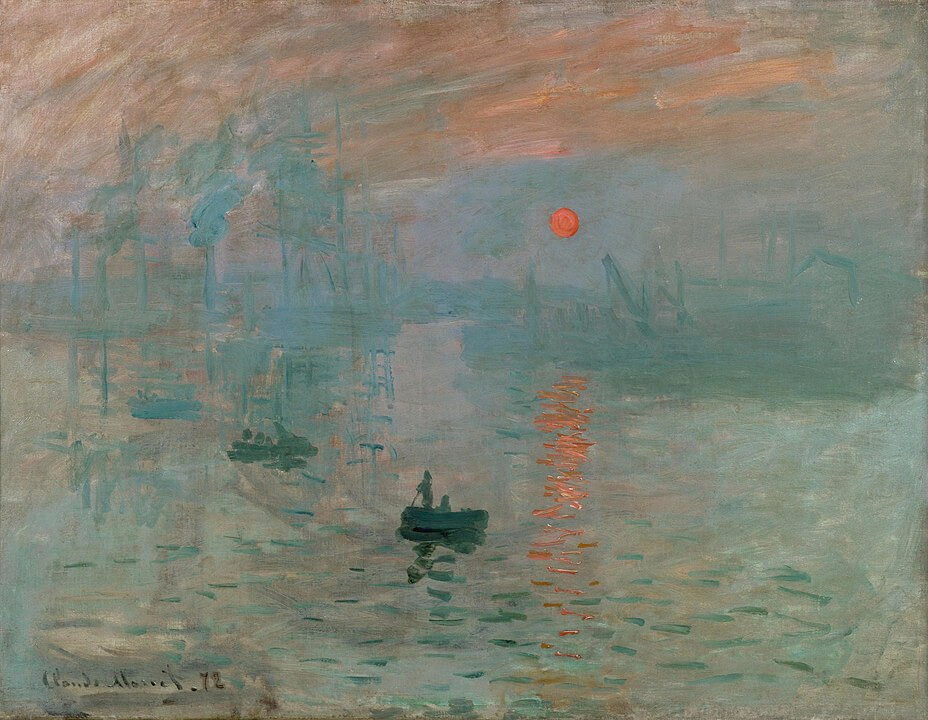 """Impresión, sol naciente"" - Claude Monet"