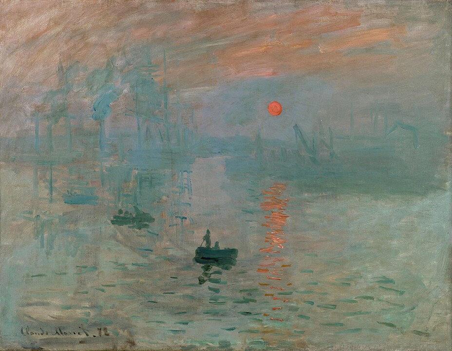 Impresión, sol naciente Claude Monet