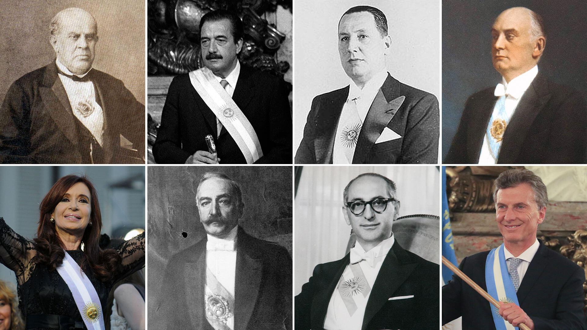 Presidentes de Argentina (1826 - 2019)