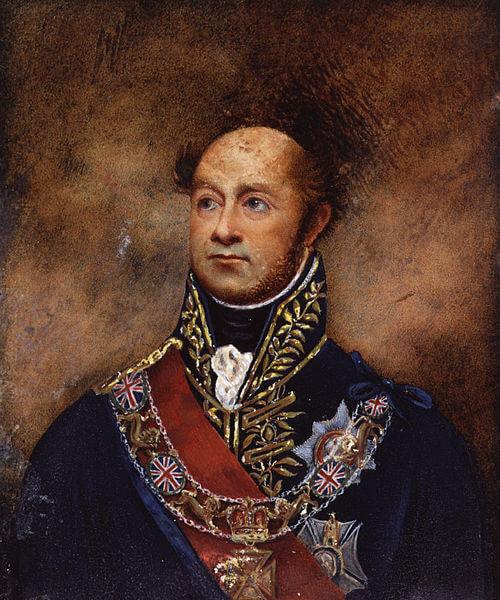 Retrato de William Carr Beresford.