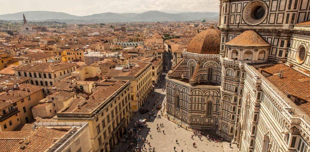 Ciudad de Florencia, Italia.