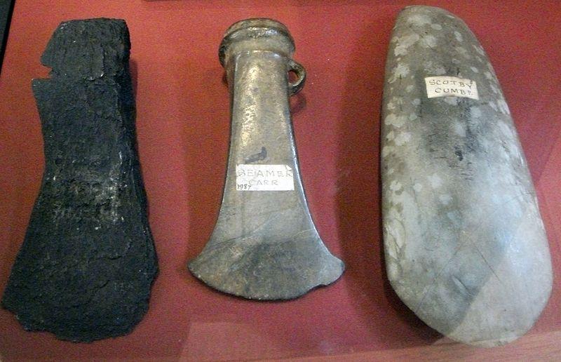 Hachas prehistóricas