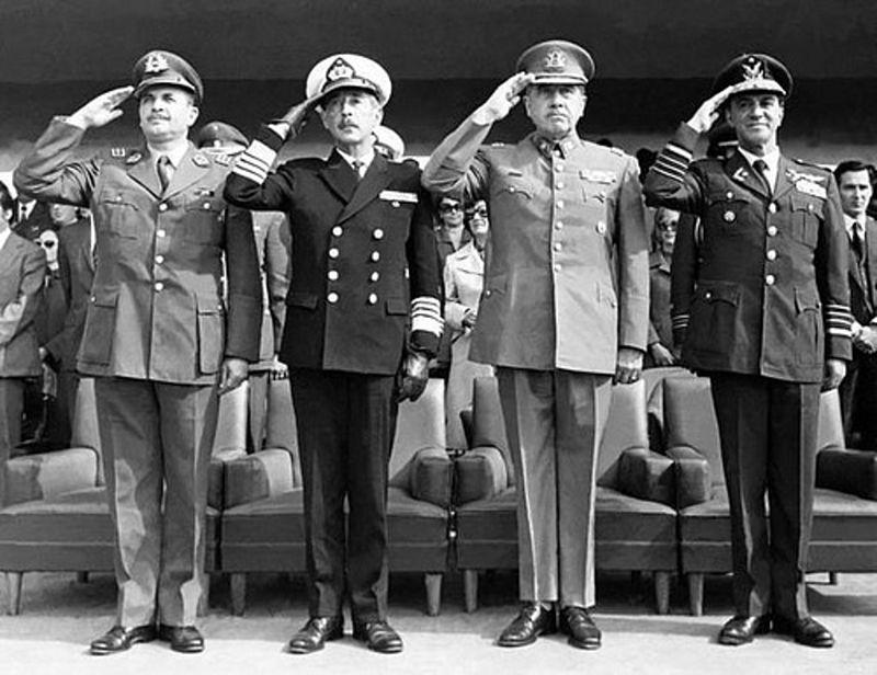 Junta militar de gobierno 1973