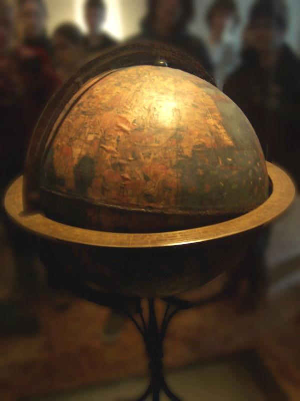 Erdapfel, globo terráqueo más antiguo.