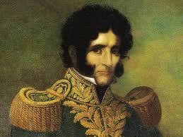 Retrato de Facundo Quiroga.