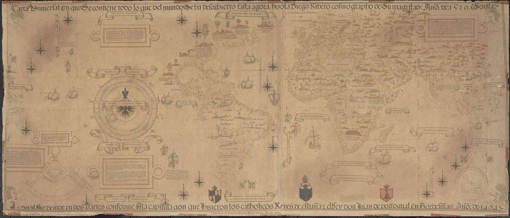 Mapa de Diego Rivero