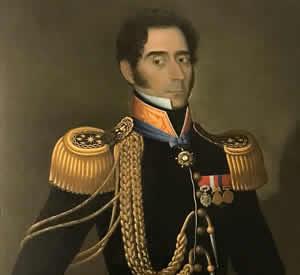 Cuadro del general Juan Gregorio Las Heras
